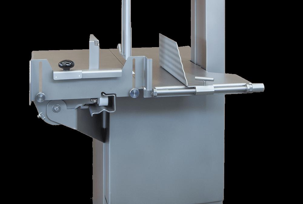 MADO Bandsägen mit FPS-Systems (Finger-Protection-System)