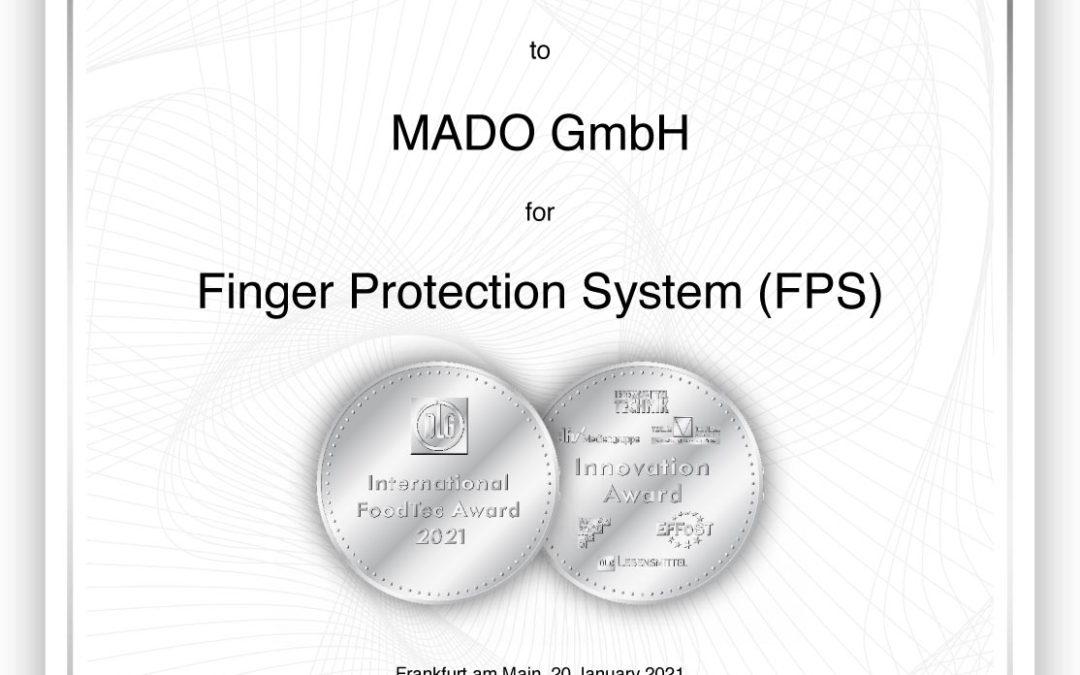 International FoodTec Award 2021 in Silver for Mado